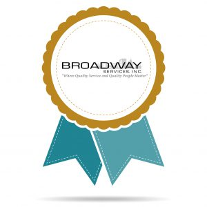 Broadway Services, Inc. | Employee Recognition Ribbon Illustration