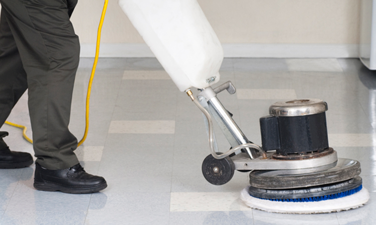 Broadway Services, Inc. | Housekeeping and Janitorial Services | Floor Maintenance