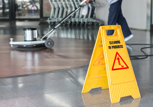 Broadway Services, Inc. | Janitorial Services | Cleaning Floor