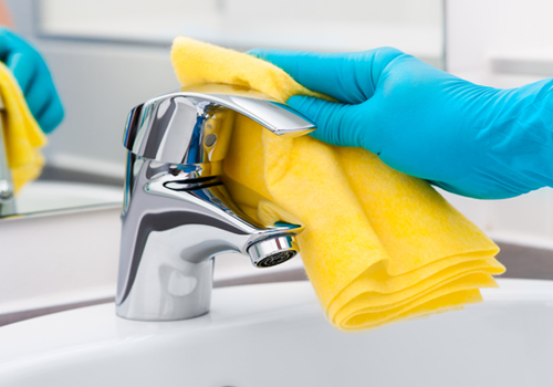 Broadway Services, Inc. | Janitorial Services | Cleaning Sink