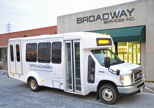 Broadway Services, Inc. | Shuttle Services | Shuttle Bus