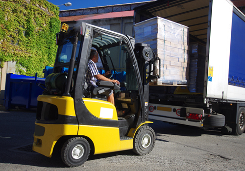 Broadway Services, Inc. | Transport Services | Loading Truck at Dock