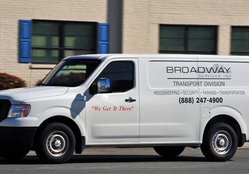 Broadway Services, Inc. | Transport Services | Transport Van